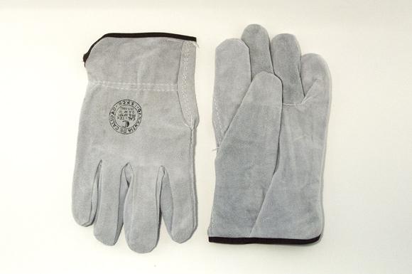 Спилковые перчатки для сварки