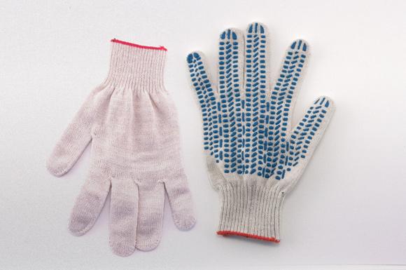Рабочие перчатки из ХБ